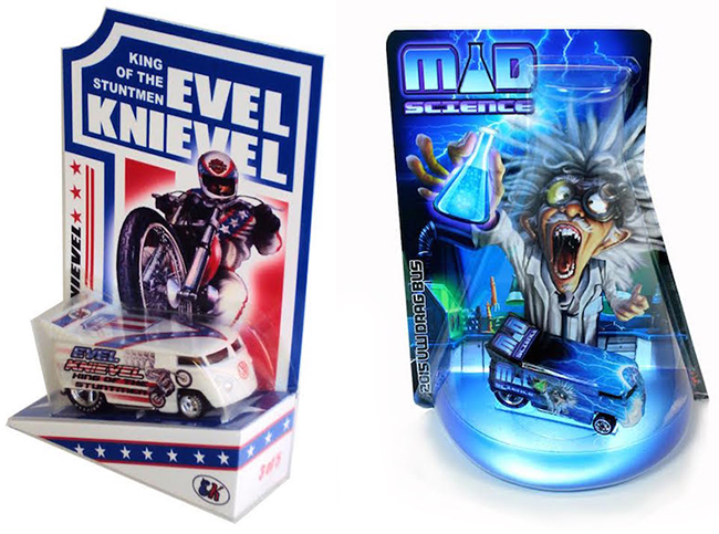 Evel Knievel Mad Science Drag bus