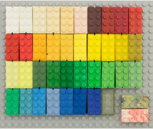 understanding the lego color palette brick architect - 618×521