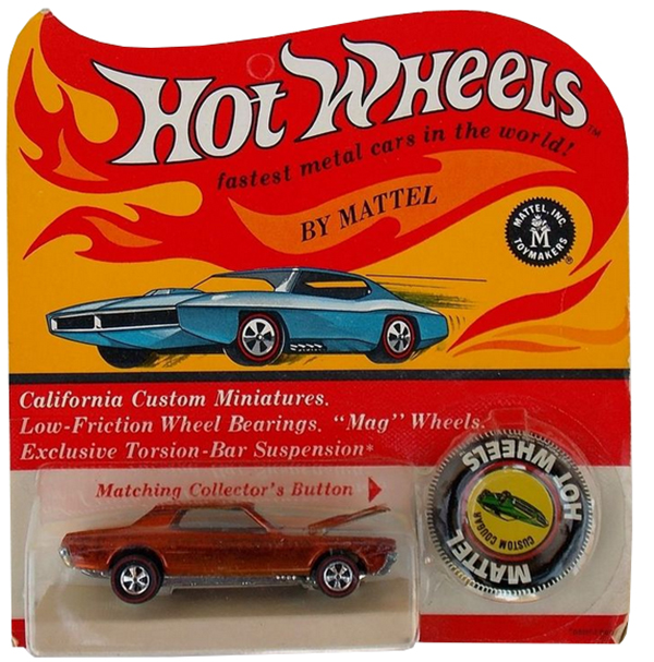 Hot Wheels Blister Cards Influenced Diecast Packaging