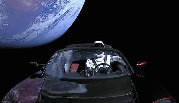 Tesla Roadster Hot Wheels Car
