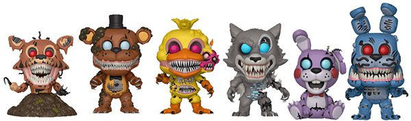 funko pop five nights at freedys